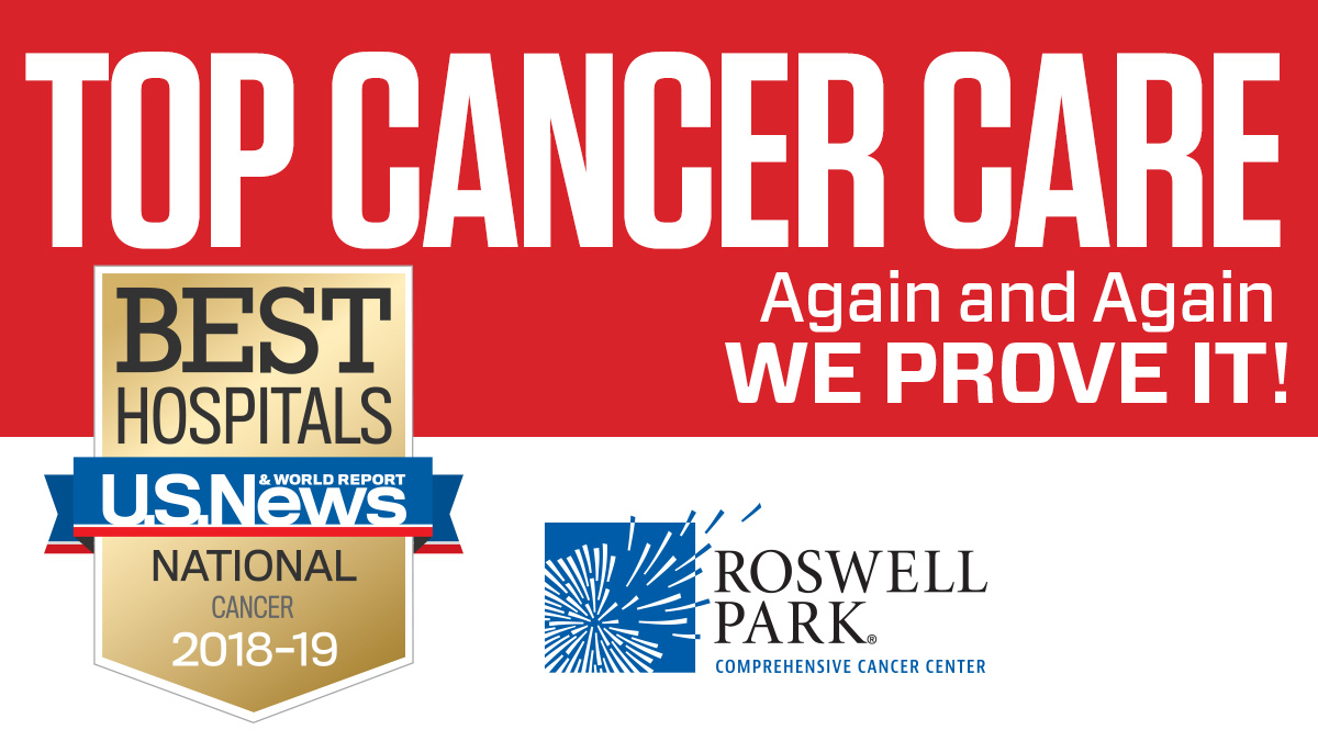 Roswell Park Among Top 3 Percent of Cancer Hospitals