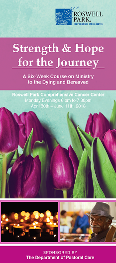 six week grief course brochure