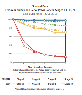 What Is The Survival Rate For Kidney Cancer Roswell Park Comprehensive Cancer Center