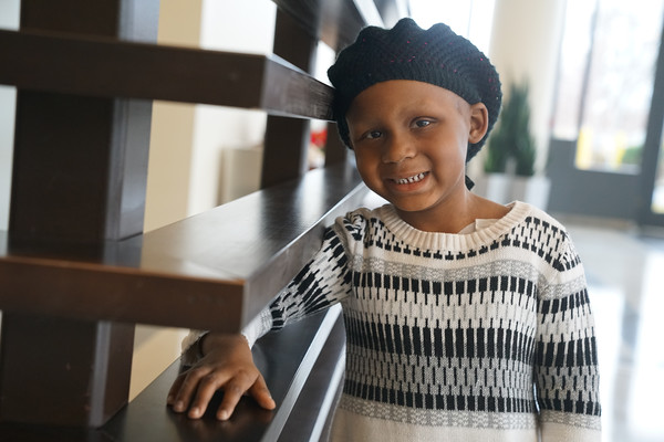 Natalie was diagnosed with stage 3 Embryonal Rhabdomyosarcoma, but continues to smile and shine.