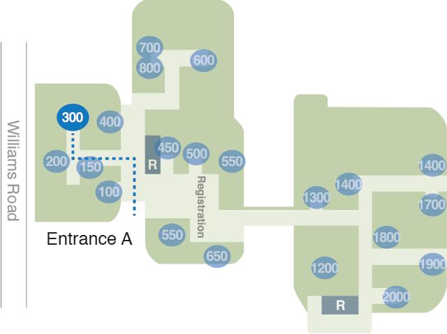 Roswell Park Niagara Location within Summit Healthplex
