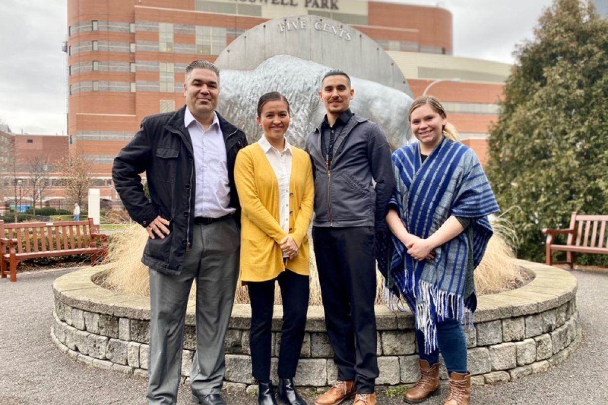 The staff of the Center for Indigenous Cancer Research at Roswell Park