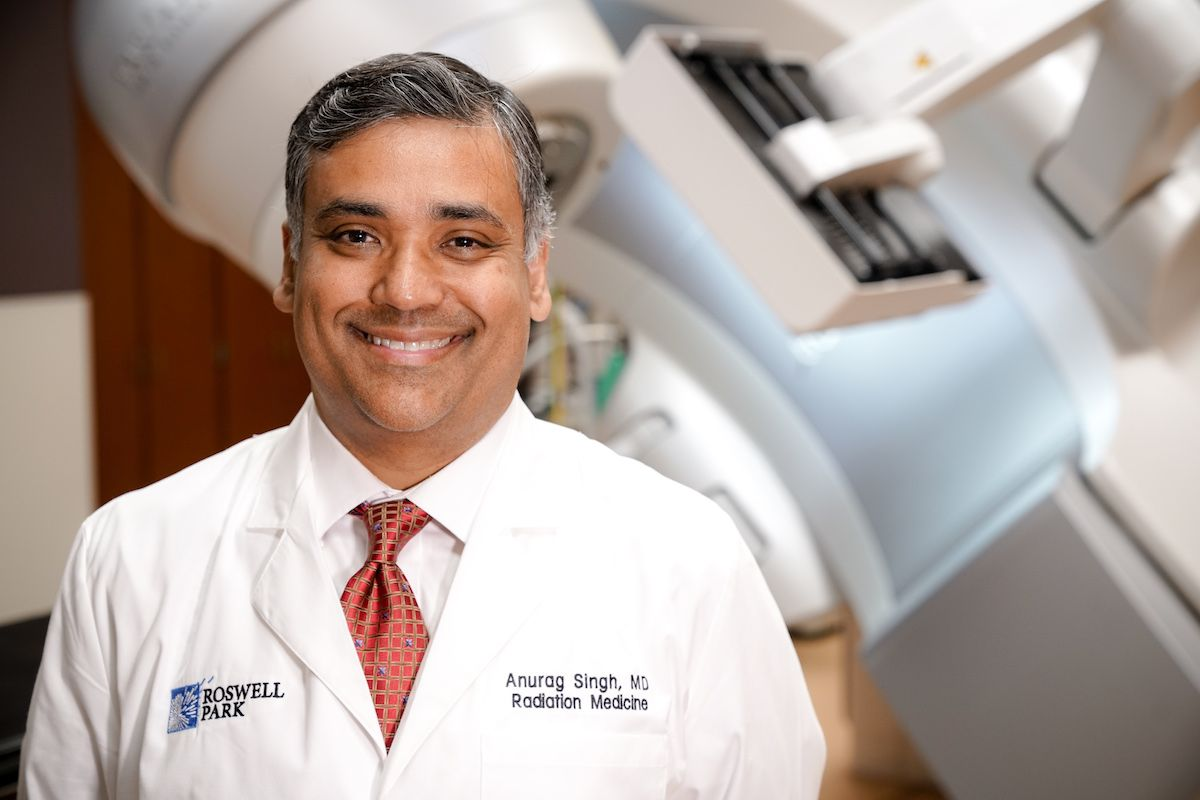 Dr. Singh is testing the use of ALTENS treatment for patients with cancers of the head and neck.