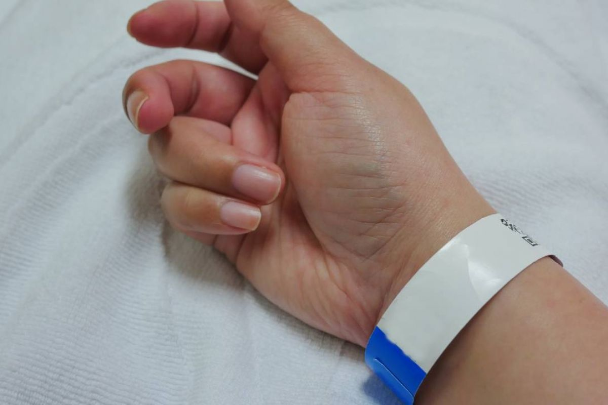 Starting in April, more patients at Roswell Park will receive a thermal paper wristband when they come in for appointments.