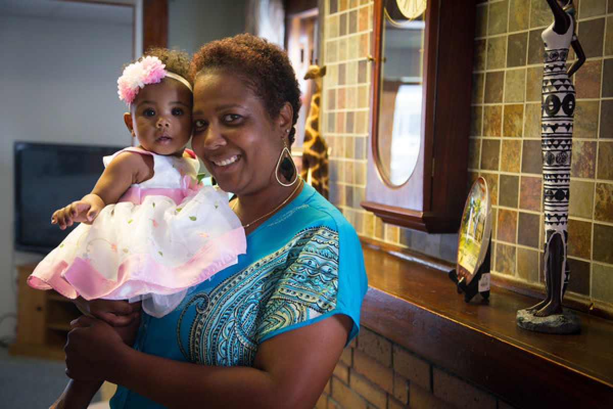 The same month she learned that she was expecting her third child, Annette Hill was diagnosed with stage III breast cancer.