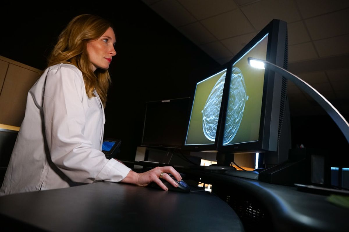 Dr. Marie Quinn was recently named Director of Breast Imaging - a total of five imaging experts received promotions to Vice Chair or Director roles