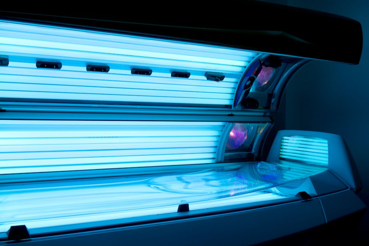 """Perhaps you've seen some of these """"whoppers"""" posted at local fitness centers or salons, promoting their tanning services."""