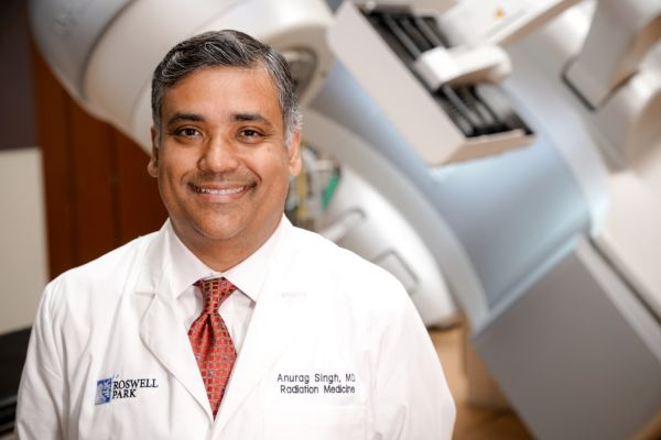 Dr. Anurag Singh led new research that reveals a survival benefit for patients with some cancers who take aspirin or other anti-inflammatories along with their cancer treatment.