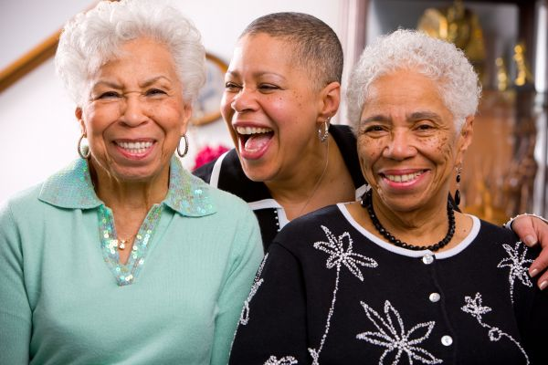 Driven to find out why so many women in her family had breast cancer, Veronica Meadows-Ray (center) asked a question that led to a historic study involving more than 400 African-American participants. At right is her mother, Mary; at left, her aunt, Evely