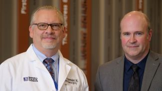 Drs. Robert Fenstermaker and Michael Ciesielski