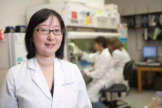 Dr. Eunice Wang leads Roswell Park's Leukemia Team