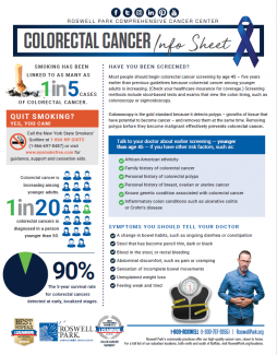 Colorectal Cancer Info Sheet